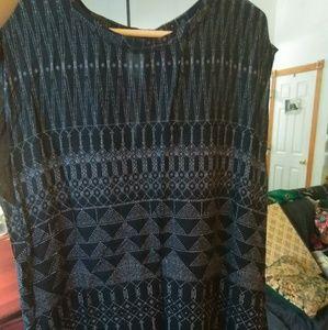 H&M Geometric Print Dress with Pockets!